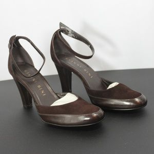 Gianni Bini Heels with strap closure size 6.5